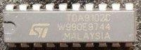 TDA9102C - obvod pro monitory, DIP20