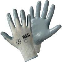 Pracovní rukavice Worky 1155, nylon s nitrilovým nátěrem na dlani, velikost 7