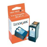 Cartridge Lexmark 34, 18C0034, černá