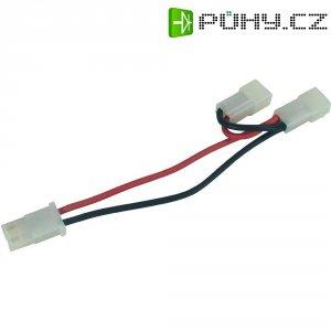 Y kabel akumulátoru paralelní s AMP konektory Modelcraft