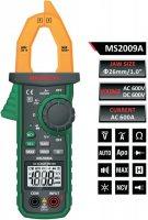 Multimetr MASTECH MS2009A klešťový,automat