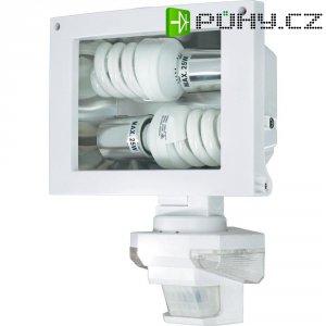 Reflektor s detektorem pohybu,E27, max. 2x 25 W, bílá