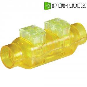 Kabelová spojka TE Connectivity, 293545-3, 0,33 - 0,5 mm², 2pólová, žlutá/zelená