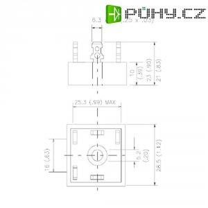 Usměrňovací dioda Rectifier 36MT120, D-63, 35 A, U(RRM) 1200 V