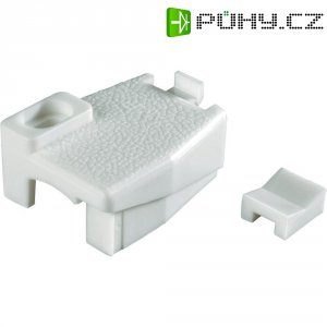 Úchyt a ochrana kabelu TE Connectivity 640716-01, 600 V, 6,35 mm, bílá