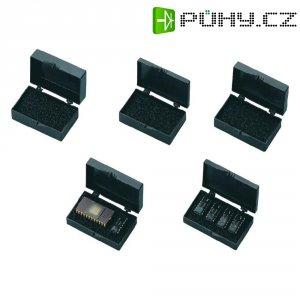 ESD pouzdro na kulové závěsy BJZ C-186 13AC, 51 x 29 x 13,5 mm, černá