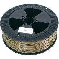 Náplň pro 3D tiskárnu, German RepRap 100182, PLA, 3 mm, 2,1 kg, zlatá