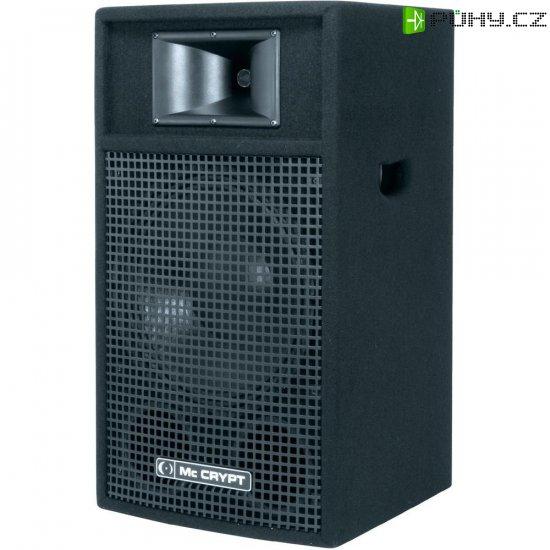 Pasivní reprobox Mc Crypt PA 12/2, 8 Ω, 95 dB, 200/600 W - Kliknutím na obrázek zavřete