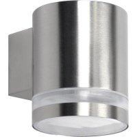 Venkovní nástěnné svítidlo Volare, GX53, 9 W, stříbrná/šedá