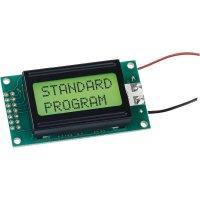 LCD displej 10x2, 10 mm, černá, zelená/žlutá