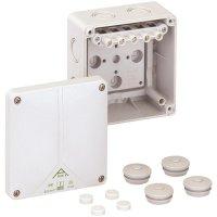 Propojovací krabice Spelsberg Abox-i 060 - 6², IP65, šedá, 49040601