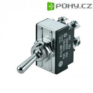 Páčkový spínač SCI R13-28B-06, 250 V/AC, 10 A, 2x zap/zap, 1 ks