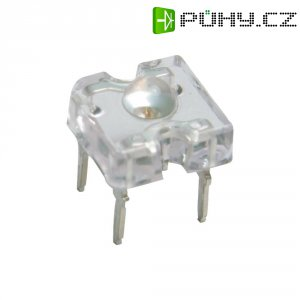 LED dioda hranatá s vývody Lumileds, HPWT-MH, 70 mA, 7,6 mm, 2,5 V, 95 °, červenooranžová
