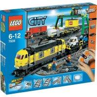 Lego City 7939 Nákladní vlak