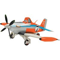 RC model Dickie Toys letadlo Driving Plane Dusty 1:24, RtR