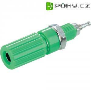 Pólová svorka SCI, (Ø x d) 6,5 x 11,5 mm, zelená