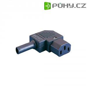 Úhlová síťová IEC zásuvka C13 Eska Bulgin, 250 A, 10 A, PX0587/SE
