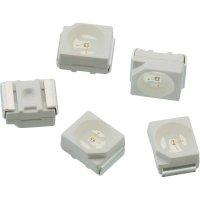 SMD LED Würth Elektronik, 150141VS73100, 30 mA, 2 V, 120 °, 90 mcd, světle zelená