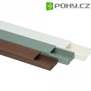 Elektroinstalační lišta Heidemann, 09954, 30x15 mm, 2 m, hnědá