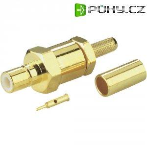 SMB konektor BKL Electronic 411003, 50 Ω, 5000 MΩ, zásuvka rovná, 2.6 mm