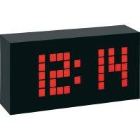 Digitální DCF hodiny TFA Time Block, 602508, 174 x 90 x 50 mm, černá