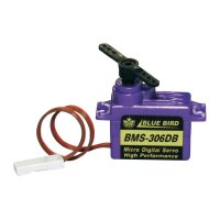 Digitální mikro servo Bluebird BMS-306DB, JR konektor