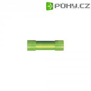 Krimpovací propojka Vogt 3734, PA, Ø 2 / Ø 1,3 mm, 0,14 - 0,5 mm², žlutá