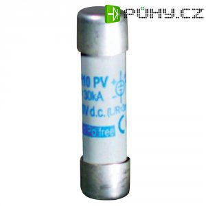 Pojistka pro fotovoltaiku ESKA rychlá 1038728, 1000 V/DC, 12 A, 10,3 mm x 38 mm