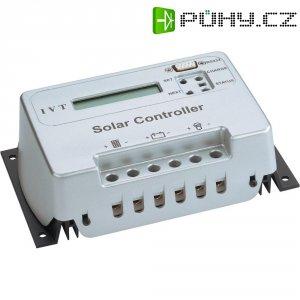 Inteligentní solární regulátornabíjení s mikrokontrolérem IVT, s displejem, SCD 30, 12/24 V, 30 A