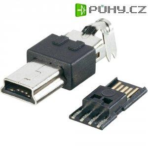 Mini USB 2.0 BKL Electronic 10120252, zástrčka rovná