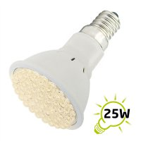 Žárovka LED E14/230V (54LED-H) 2.7W - bílá teplá