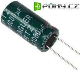 1000u/25V 105° 10x17x5mm, elektrolyt.kondenzátor radiální