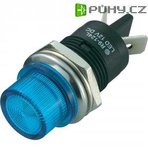 LED signálka SCI R9-124LB1-01-BUU4, LED signálka 20 mm, 12 V/DC, modrá