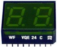 VQE24C zobrazovač .8.8., zelený, RFT
