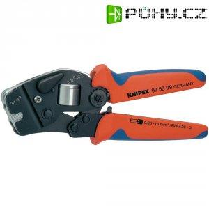 Samonastavitelné krimpovací kleště pro dutinky Knipex 97 53 09, rozsah 0,08 - 10 mm² + 16 mm²