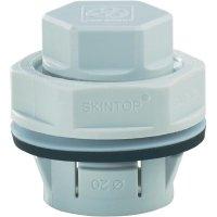 Záslepka LappKabel Skintop Click BLK M20 LGY (52109014), IP68, M20, polyamid, světle šedá