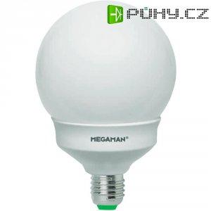 Úsporná žárovka kulatá MegamanDim Globe E27, 18 W, teplá bílá