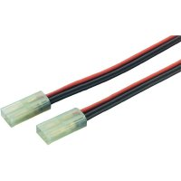 Napájecí kabel Modelcraft, Mini-Tamiya konektor, 2,5 mm², 1 pár