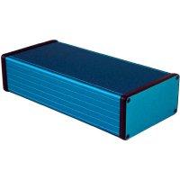Univerzální pouzdro hliníkové Hammond Electronics, (d x š x v) 220 x 103 x 53 mm, modrá