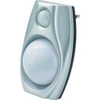 Noční LED svítidlo s detektorem pohybu, 10284C2, 0,6 W, bílá/stříbrná