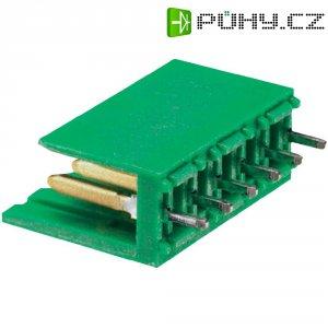 Konektor TE Connectivity 280612-2, zástrčka rovná, 3,96 mm, zelený