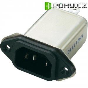 Síťový filtr Yunpen, YB03A1-B, 2 x 1,8 mH, 250 V/AC, 3 A