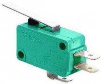 Mikrospínač ON-(ON) 1pol.250V/10A s páčkou
