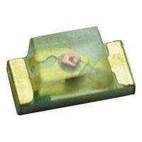 SMD LED Yoldal, UBSM0603USR21, 20 mA, 2,1 V, 120 °, 100 mcd, červená