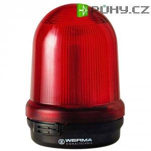 Bleskové světlo Werma, 828.100.68, 230 V/AC, 150 mA, IP65, červená