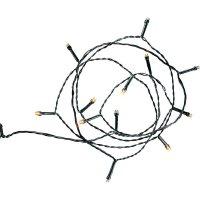 Venkovní vánoční řetěz Polarlite, 80 LED, 12,64 m, jantarová