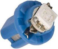 Žárovka LED B8,5D 12V/0,5W modrá