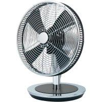 Stolní ventilátor Renkforce, Ø 33cm, 36,3 W, chrom