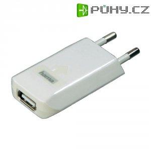 USB nabíječka Hama, bílá