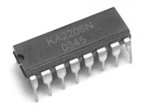 KA2206N, DIL16